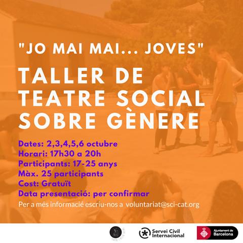 Taller teatre social al SCI